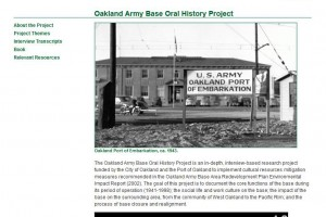 Image of Community Arts Oral History Project at ROHO