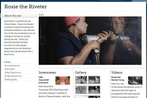Image of rosietheriveter.umw.edu