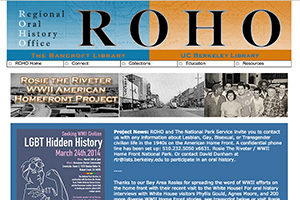 Image of Rosie Website at ROHO